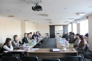 Під час роботи семінару «Правові аспекти інтеграції дітей-переселенців у школах та їх психологічна підтримка»
