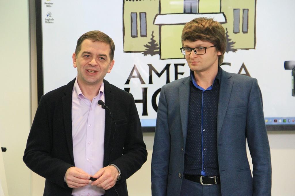 Гія Гецадзе та Станіслав Куценко (с) Vitaliy Chumak/America House Kyiv