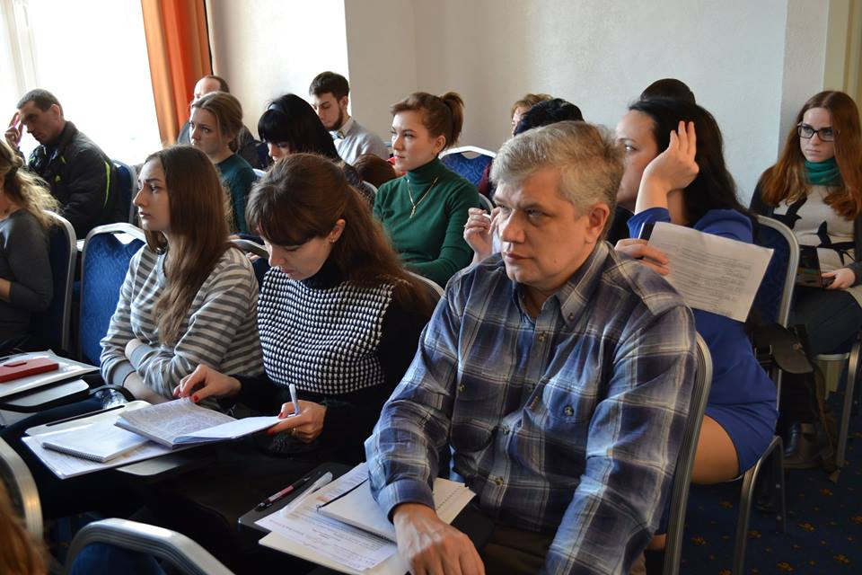 Частина аудиторії тренінгу (фото — Олена Костиря)