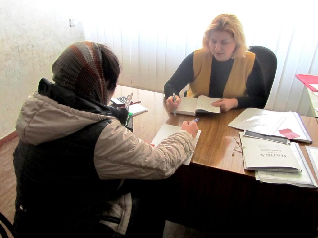 Прийом та консультація жінок в рамках проекту