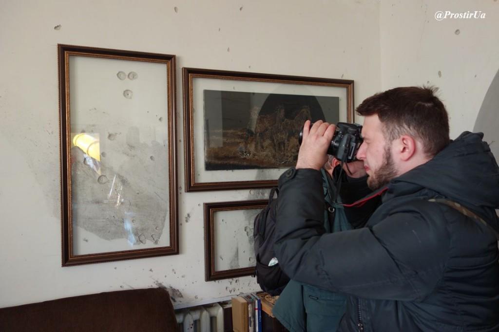 Пошкоджений будинок