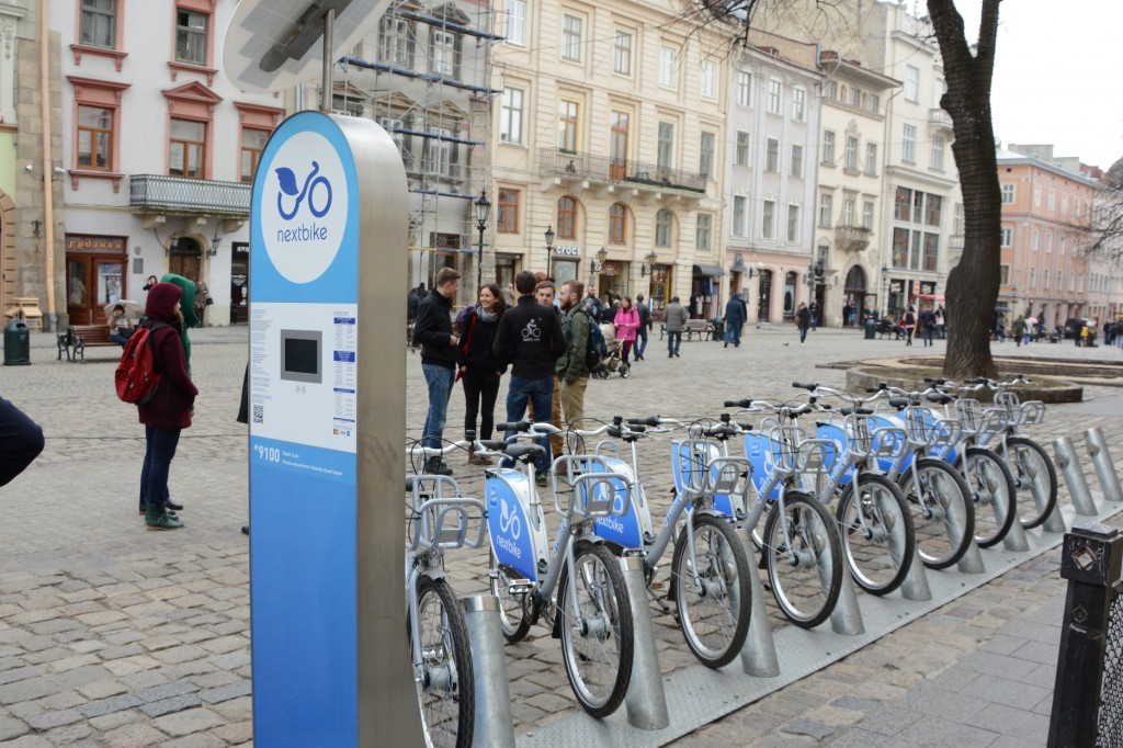 86d02e735d2380 Громадський велосипед офіційно став доступним для мешканців і гостей Львова