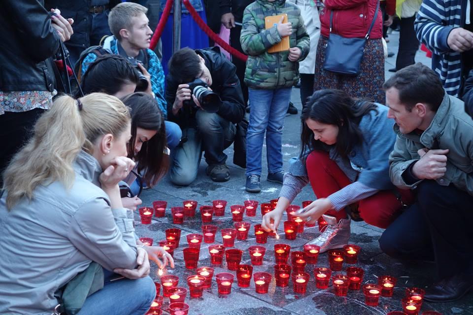 У Києві пройшов мітинг в пам'ять жертв геноциду кримськотатарського народу