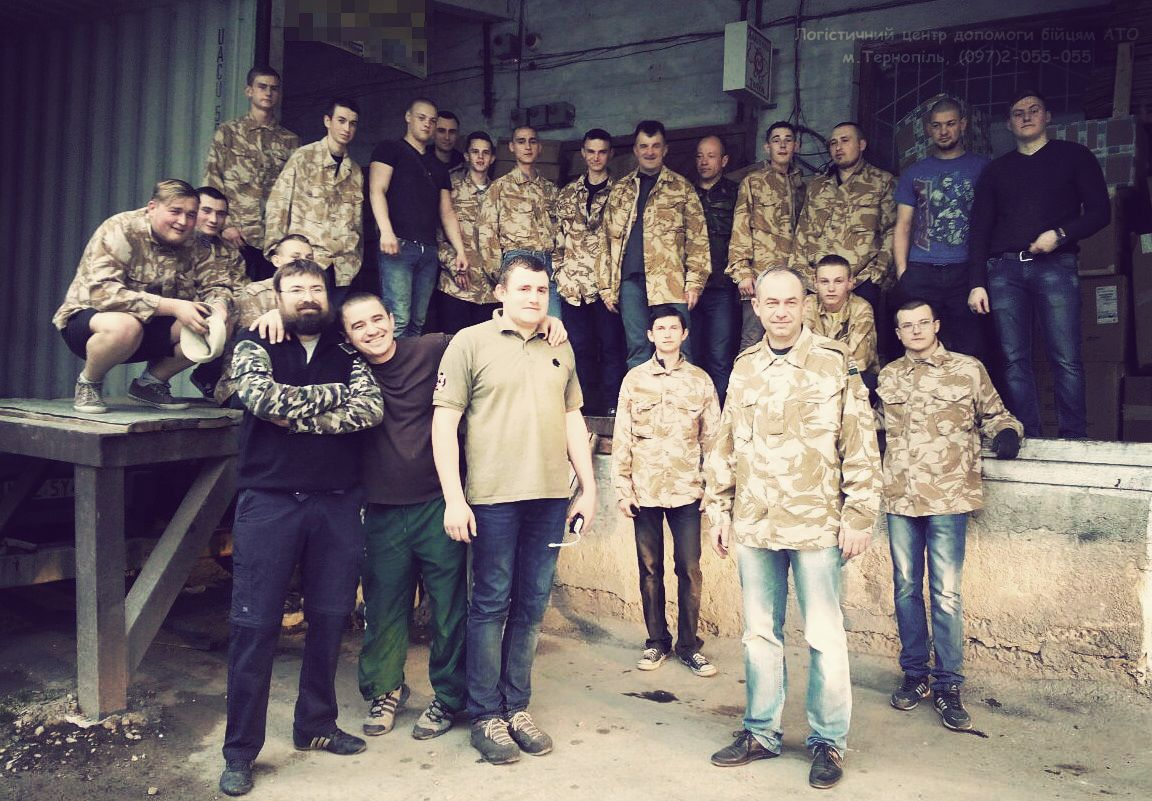 Фото з офіційної сторінки Логістичного центру допомоги бійцям АТО м.Тернопіль