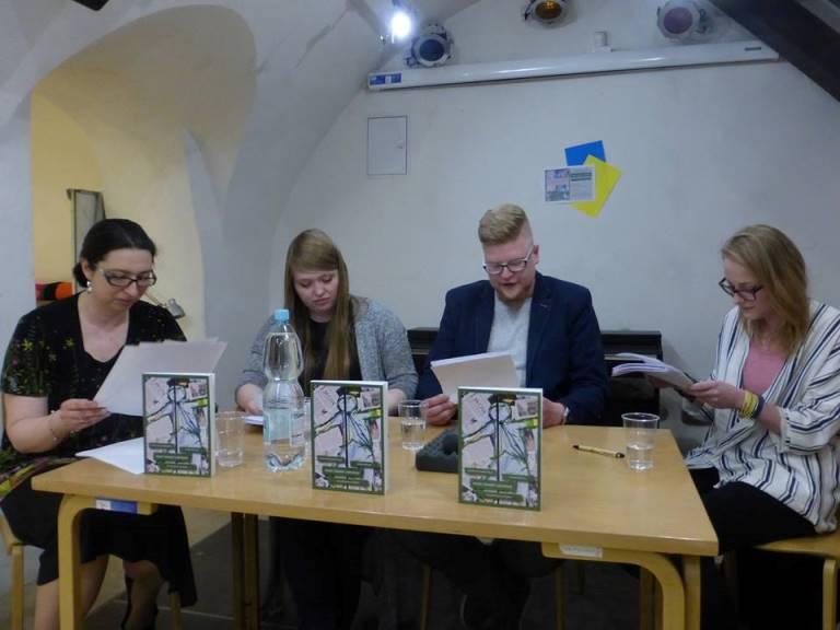 Читання п'єси «Дев'ятий місячний день» Олександри Громової у Варшавському Університеті