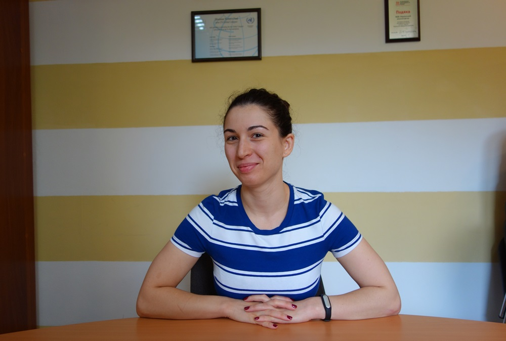 Оксана Квітка, менеджерка проектів Українського Жіночого Фонду