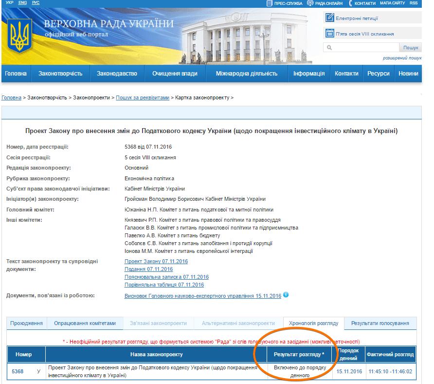 Офіційний портал Верховної Ради України - Google Chrome 2016-11-15 16.40.28