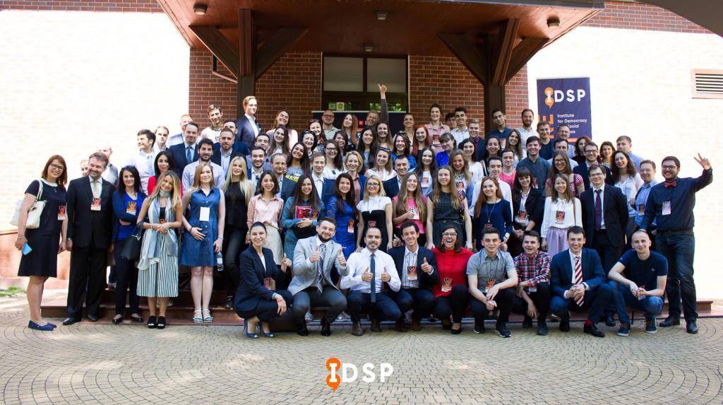 Учасники міжнародної конференції «Чи хоче молодь політику. Приклад Грузії, Молдови та України»