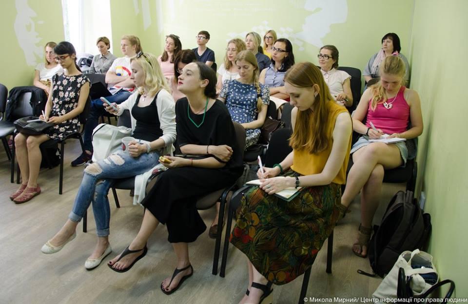 Учасниці та учасники майстер-класу Як писати сильні тексти