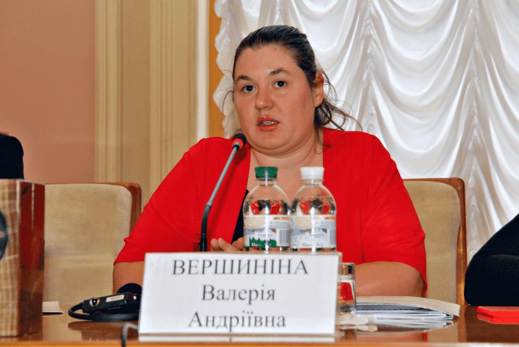 Валерія Вершиніна, старший менеджер програми «Радник з питань ВПО»