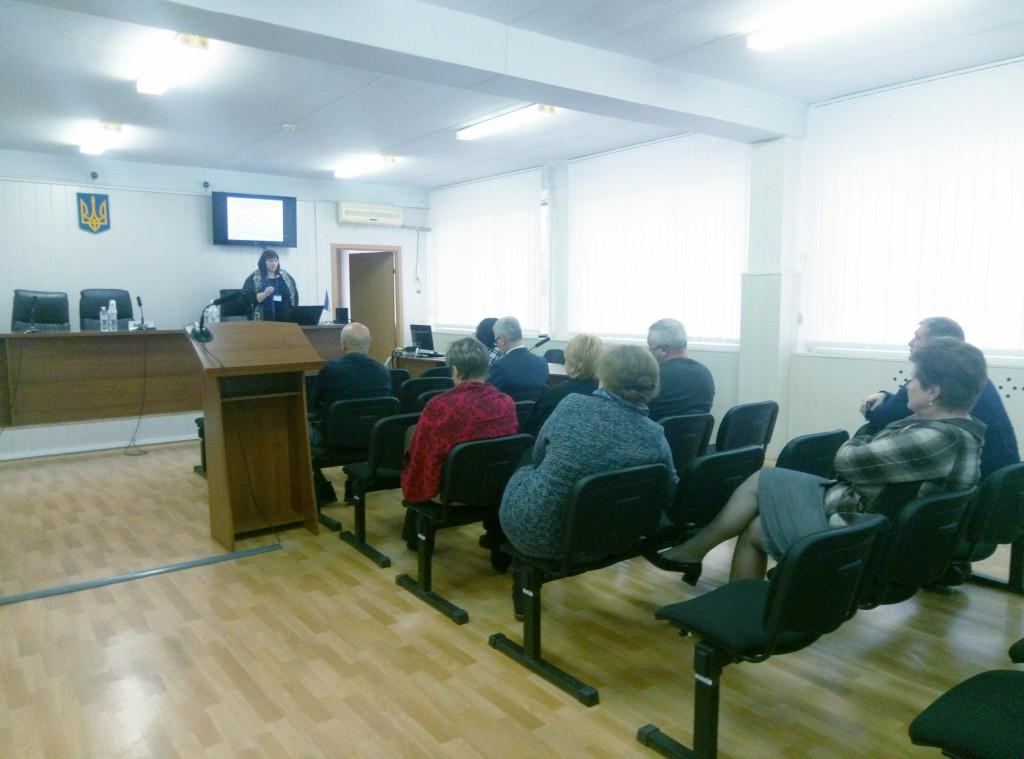 Судді та працівники апаратів судів Донеччини покращили навички спілкування у роботі з людьми з інвалідністю