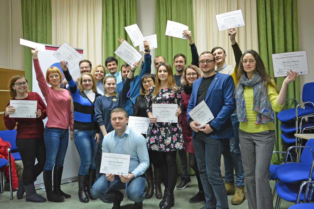 """Випускники """"Школи комунікацій"""" від IRI, м. Миколаїв"""