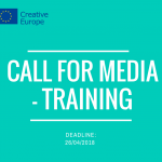Call for MEDIA - Training