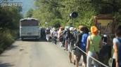 Road of a migrant