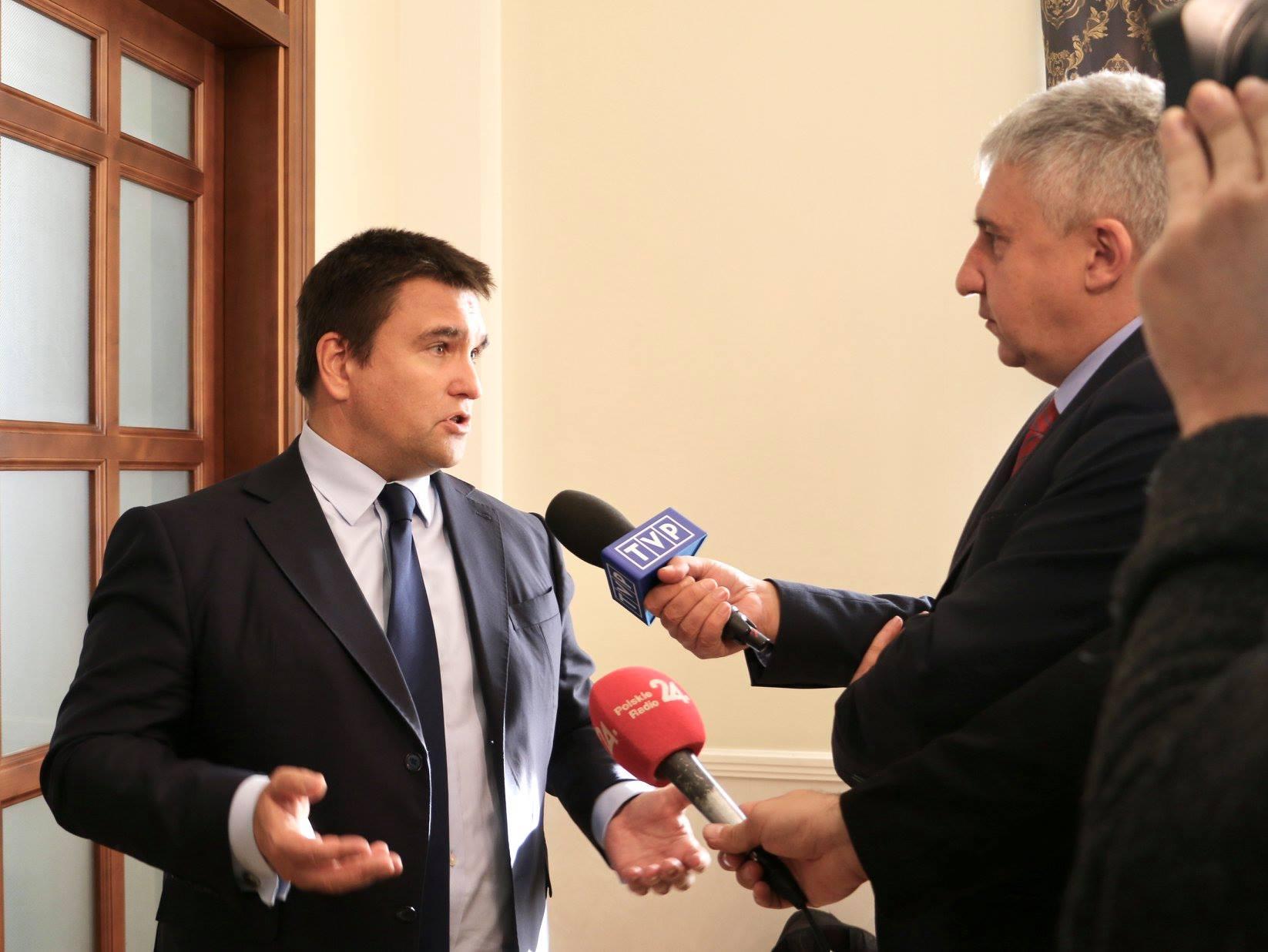 Найгостріші питання дісталися міністру Клімкіну