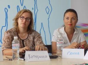 Учасниці фокус-групи в смт Комиш-Зоря