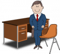 People-024-Teacher-Desk-Chair-300x269