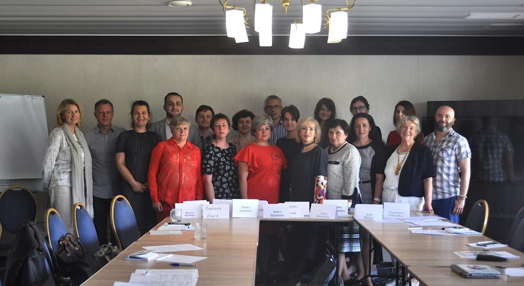 Участники литовсько-українського круглого столу