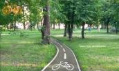 Проект велодоріжки у Кропивницькому