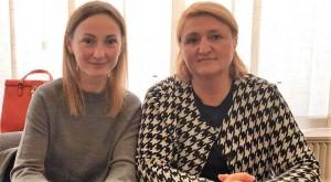 Ірина Суслова та Олена Семьоркіна (УГСПЛ) на парламентських слуханнях у жовтні 2018 року