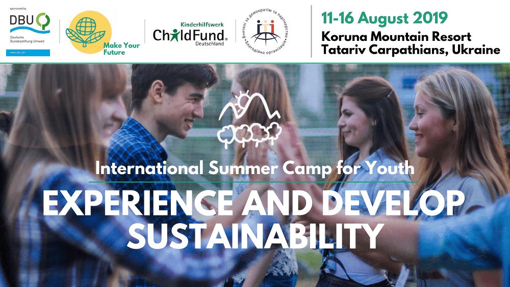 Міжнародний літній табір для підлітків у Карпатах