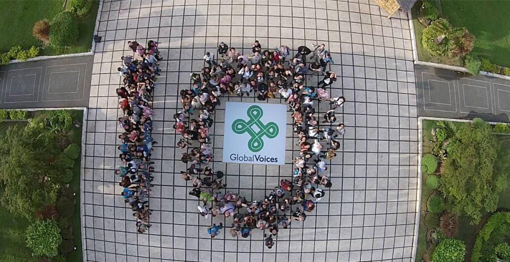 Фото зроблене на честь 10-ої річниці GV у місті Себу, Філіппіни. CC BY-NC 2.0