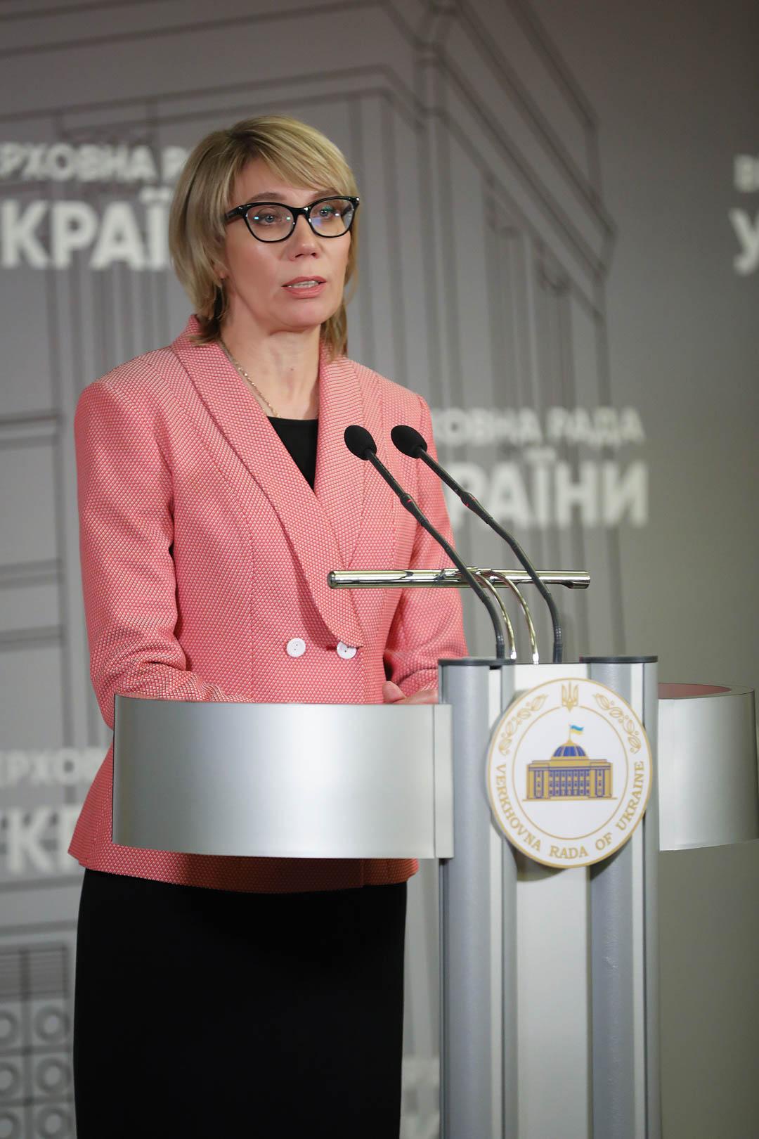 Ярослава Лопатіна, голова Представництва Фундації АнтиСНІД-США в Україні