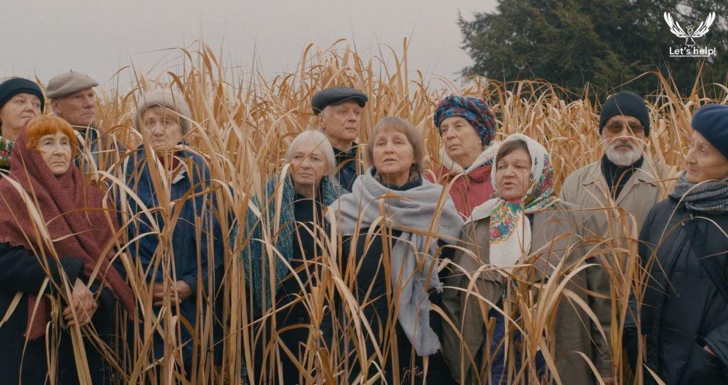 Фонд Let's help презентував соціальний ролик, присвячений самотності людей похилого віку в Україні