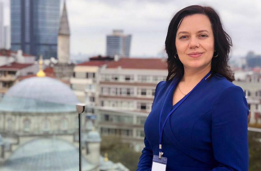 Олена Урсу, керівниця групи проектів ПРООН з демократичного врядування