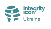 II Ukraine turqoise logo