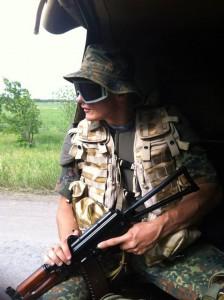 Андрій Юркевич під час перебування на фронті. Фото з сайту http://memorybook.org.ua/30/yurkevech.htm