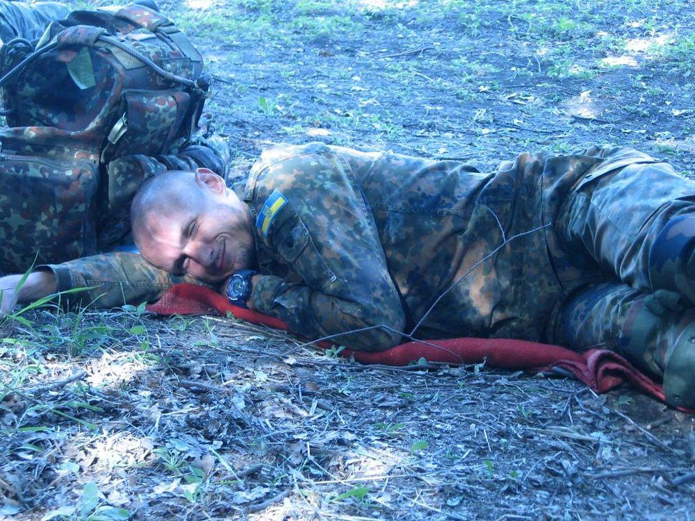 Андрій Юркевич на війні. Фото з сайту http://memorybook.org.ua/30/yurkevech.htm