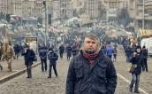 Ігор Сердюк на Майдані. Автор фотографії: Андрій Тирса