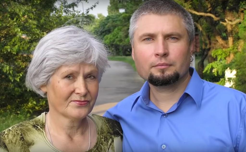 Ігор разом з мамою