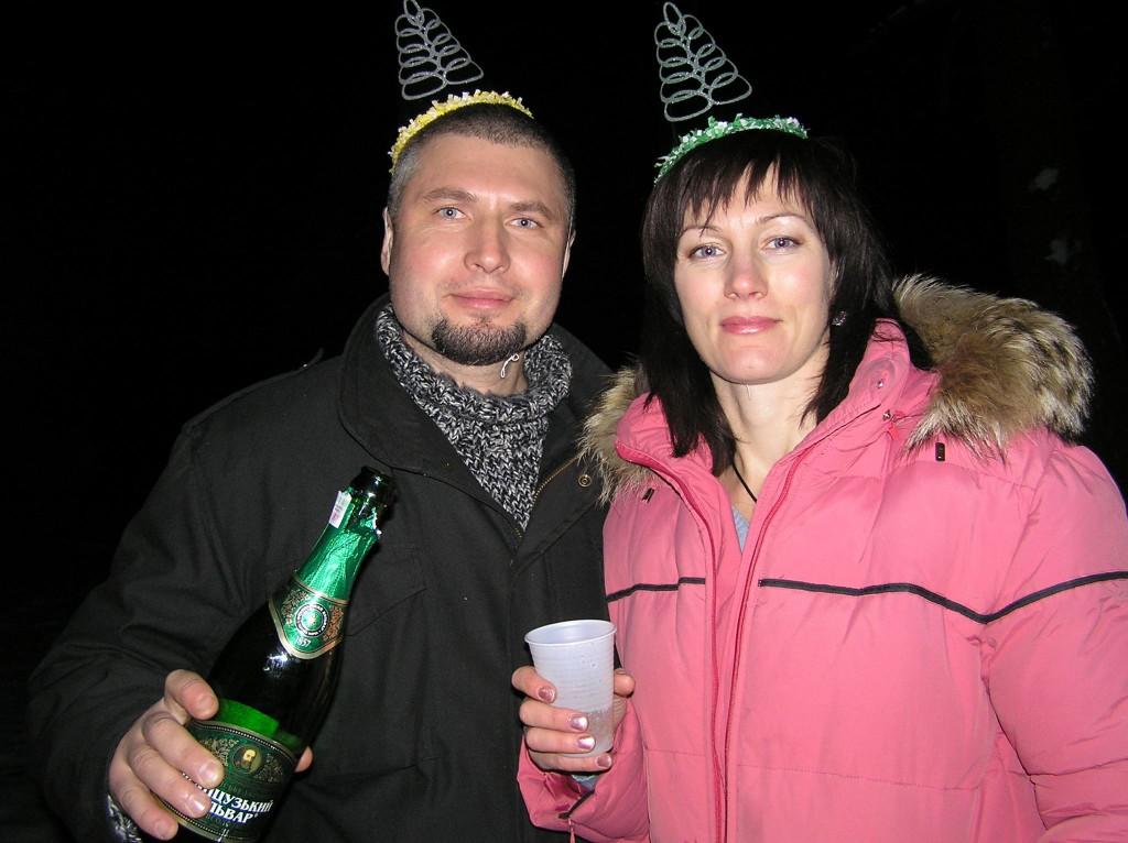 Ігор разом із дружиною Ірою