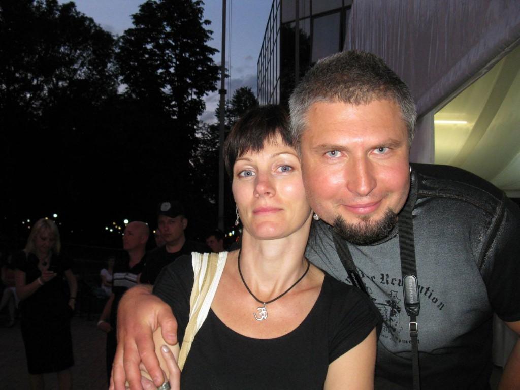 Ігор з дружиною Іриною