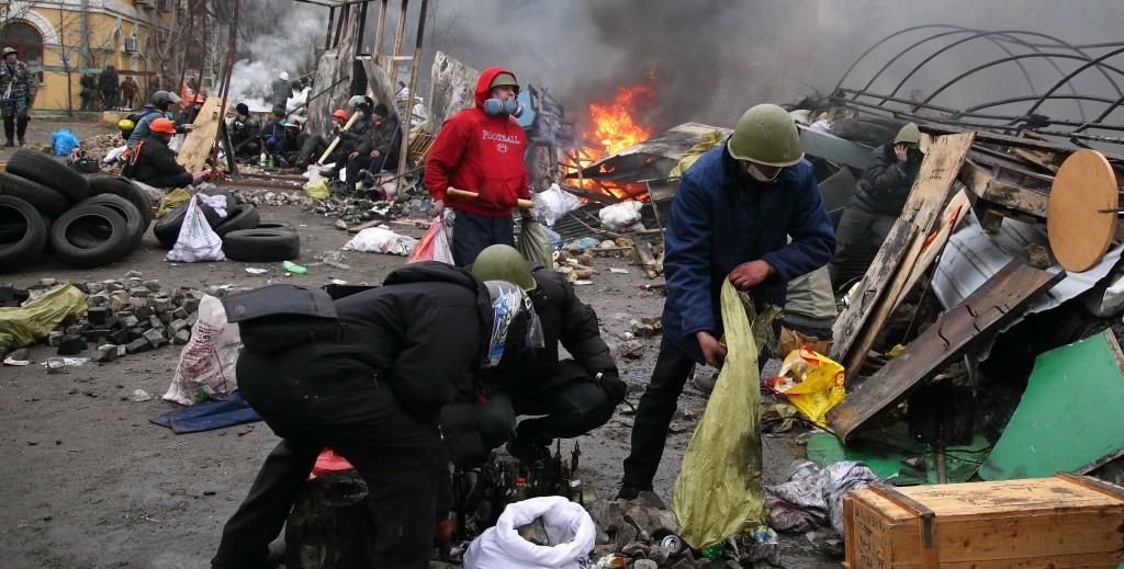 З майдану на війну. Історія лейтенанта Віталія Максимкіна