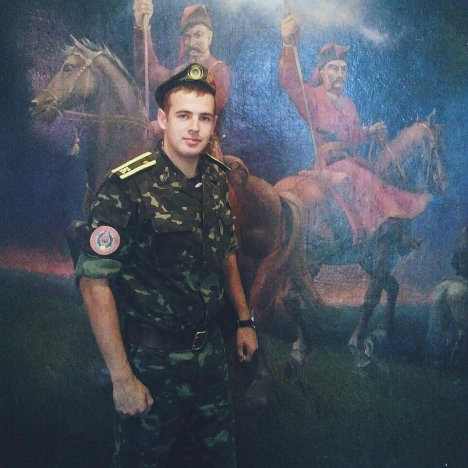 Артур - курсант академії сухопутних військ імені Петра Сагайдачного у Львові