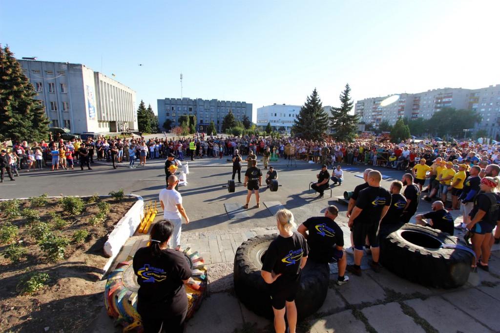 У Попасній відбулися змагання стронгменів та стронгвуменів.2020 рік. Автор Катерина Радіонова