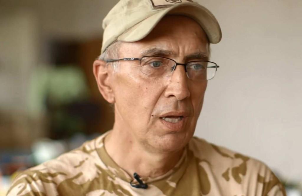 Марк Паславський. Скріншот з відеоінтерв'ю