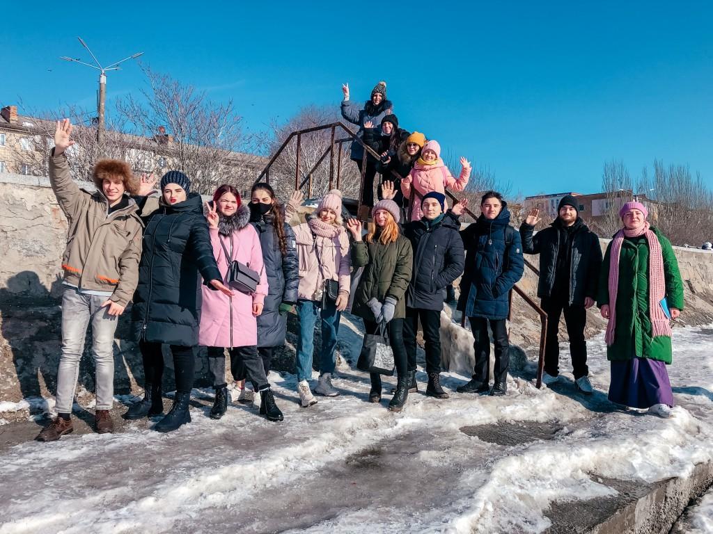 Учасники творчого воркшопу у Бердянську