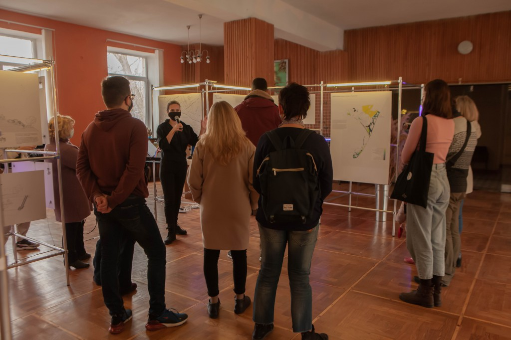 Архітекторка Анастасія Пономарьова пояснила, як архітектурна концепція народилась у відповідь на запит місцевих жителів Бердянська
