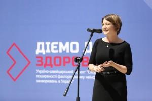 Пріска Депнерінг, заступниця директорки Швейцарського бюро співробітництва в Україні-min