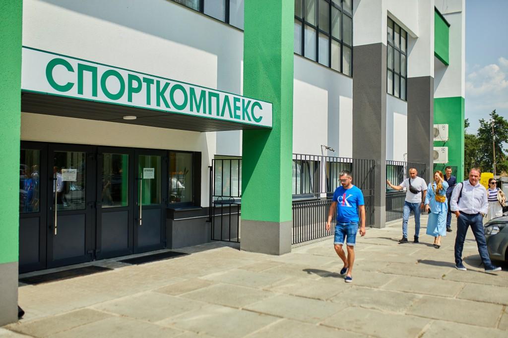 Українка_Спорткомплекс