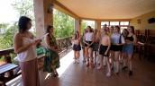 У с.Залізний Порт учасниці танцювального колективу Ілони Гвоздьової взяли участь у семінарі з протидії булінгу.