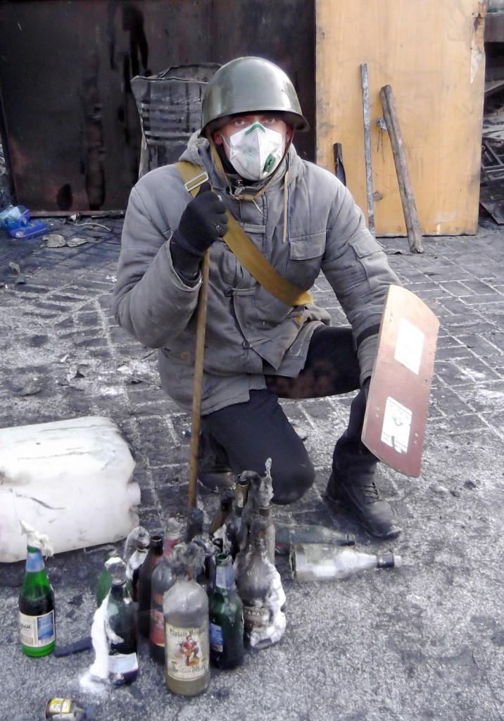 Володимир Чаплінський на Майдані.