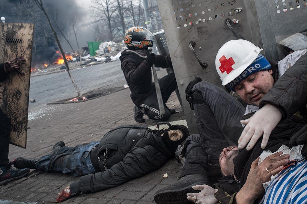 Іван Пантелєєв вбитий на Інститутській. Фото: Eric Bouvet.