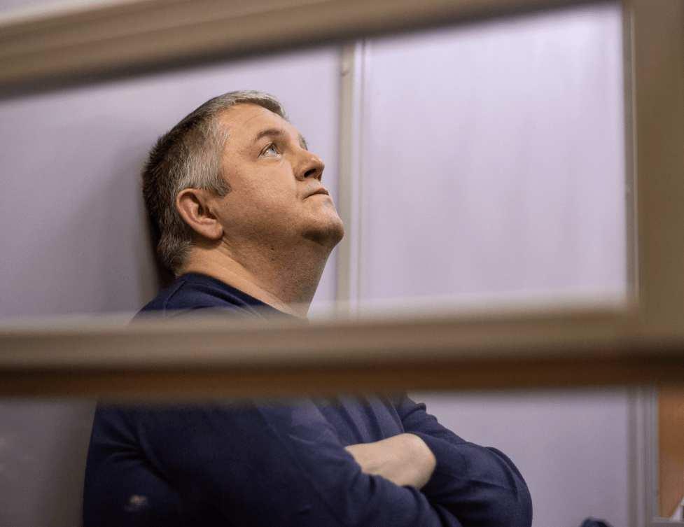 Олександр Волков в суді. Фото: Стас Юрченко.