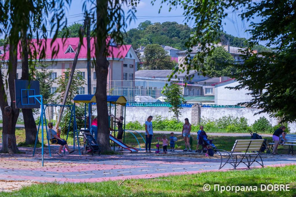 Молодіжний парк, Теребовлянська громада
